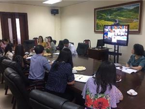 Hội thảo trực tuyến về các dự án hợp tác kỹ thuật giữa Việt Nam và IAEA