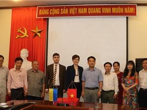 Đại sứ quán Ukraina: sẽ là cầu nối hợp tác Việt Nam - Ukraina về năng lượng nguyên tử