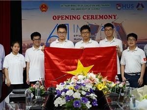 6 học sinh Việt Nam dự thi Olympic Toán quốc tế đều đoạt giải