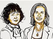 """Nobel Hóa học cho 2 nhà nữ khoa học tìm ra """"kéo di truyền"""" CRISPR/Cas9"""