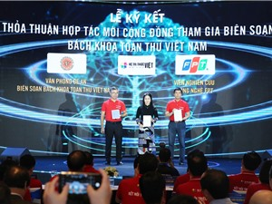 Cộng đồng cùng biên soạn Bách khoa toàn thư Việt Nam