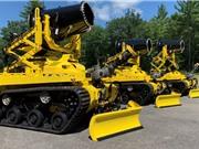 Mỹ thử nghiệm triển khai robot cứu hỏa