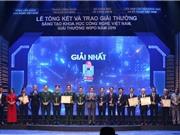 40 công trình được trao Giải thưởng Sáng tạo khoa học - công nghệ Việt Nam 2019
