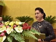 Khai mạc Kỳ họp thứ 10 Quốc hội khóa XIV: Quyết định kế hoạch phát triển kinh tế xã hội 5 năm tới