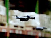 Dùng drone để theo dõi kiểm kho