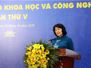 Phó chủ tịch nước Đặng Thị Ngọc Thịnh: KH&CN ngày càng trở thành nhân tố quyết định cho sự phát triển kinh tế xã hội
