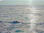 Các trầm tích ở Bắc Băng Dương bắt đầu giải phóng khí methane