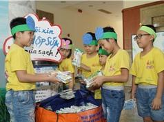 """Chương trình """"Tái chế học đường"""": Thu gom gần 270 tấn vỏ hộp sữa"""