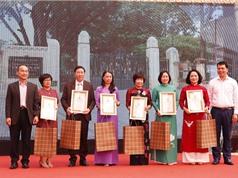 Trưng bày các sáng tác về thầy giáo Chu Văn An của học sinh cả nước