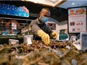 Dừng nhập khẩu 99 nhà cung cấp từ 20 nước vì phát hiện coronavirus trên thực phẩm đông lạnh