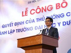 Thành lập Đại học Y Dược trực thuộc Đại học Quốc gia Hà Nội