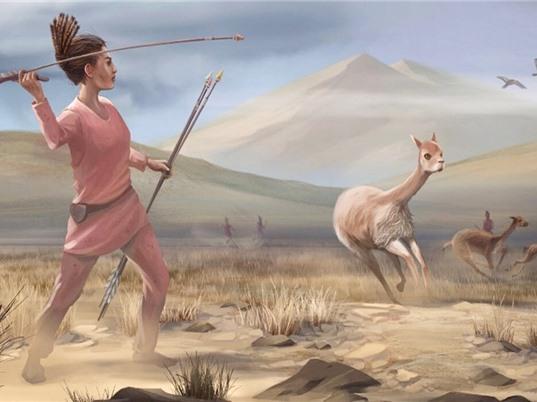 Nữ thợ săn thời tiền sử