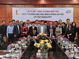 Trường ĐH Bách Khoa Hà Nội và Tập đoàn FPT lập nhóm nghiên cứu chung về công nghệ 4.0