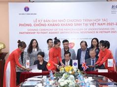 Việt Nam nhận hỗ trợ của Anh trong phòng chống kháng kháng sinh