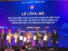 5 nền tảng điện toán đám mây Make in Việt Nam đủ tiêu chuẩn phục vụ chính phủ điện tử
