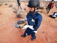 Tàu Hayabusa-2 gửi mẫu vật từ tiểu hành tinh Ryugu về Trái Đất