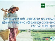 Người dân Việt Nam đồng thuận ưu tiên sinh mạng hơn phát triển kinh tế trong thời gian chống dịch