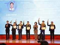 Trao giải Quả cầu vàng cho 10 tài năng trẻ về KH&CN