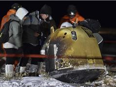Tàu vũ trụ của Trung Quốc gửi đá trên Mặt trăng về Trái đất