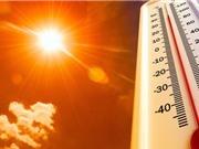 Năm 2020 là một trong ba năm nóng nhất lịch sử