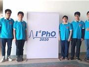 Năm học sinh dự Olympic Vật lý quốc tế đều giành huy chương