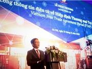 Khai trương Cổng thông tin Điện tử về Hiệp định Thương mại Tự do Việt Nam FTAP