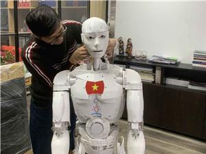 Robot trí tuệ nhân tạo trợ giảng đầu tiên của Việt Nam