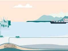 Na Uy lên kế hoạch lưu trữ CO2 dưới đáy biển