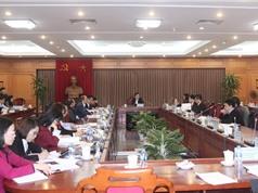 Phiên họp thứ nhất Tổ Biên tập Chiến lược phát triển KH&CN và đổi mới sáng tạo giai đoạn 2021 – 2030