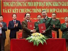 Thúc đẩy hợp tác KH&CN giữa Bộ KH&CN và Bộ Công an