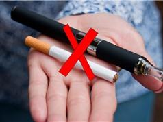 Hút thuốc lá điện tử làm tăng nguy cơ hút thuốc lá truyền thống