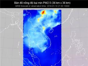 Hành trình của bụi PM2.5 trong mùa đông