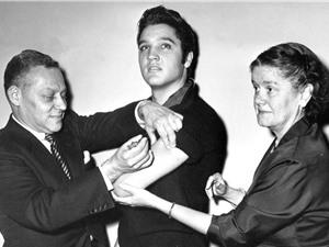 Khi Elvis giúp quét sạch bệnh bại liệt