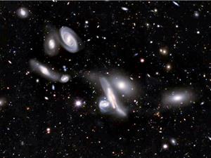 Bản đồ 2D lớn nhất về vũ trụ