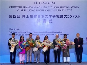 Trao giải cuộc thi nghiên cứu văn học Nhật Bản