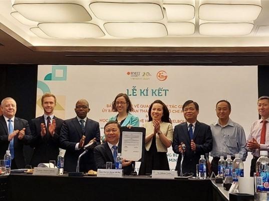 RMIT và TPHCM hợp tác phát triển thành phố thông minh