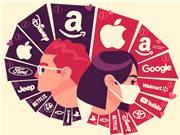 [Infographic] Top 50 thương hiệu có giá trị nhất thế giới năm 2020.