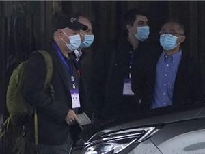 Đoàn điều tra của WHO tới khu chợ Vũ Hán để thu thập dữ liệu