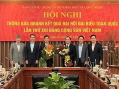 Bộ KH&CN tổ chức Hội nghị thông báo nhanh kết quả Đại hội Đại biểu toàn quốc lần thứ XIII Đảng Cộng sản Việt Nam