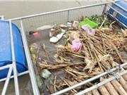 Thiết bị thu gom rác trên sông Hồng