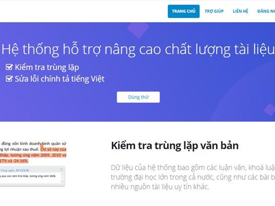 DoIT: Công cụ phát hiện đạo văn cho tiếng Việt