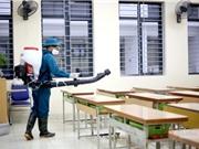 Khử trùng trường học có tác dụng đến mức nào?