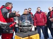 Nga thả kính viễn vọng xuống hồ Baikal để quan sát vũ trụ