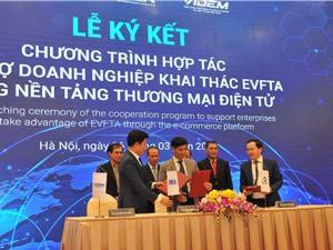 Ra mắt sàn thương mại điện tử kết nối doanh nghiệp Việt Nam-EU