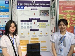 ViSEF: Sân chơi STEM giúp học sinh trưởng thành