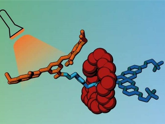 """Vận chuyển thuốc chống ung thư trong """"lồng"""" phân tử và """"mở khóa"""" bằng ánh sáng"""