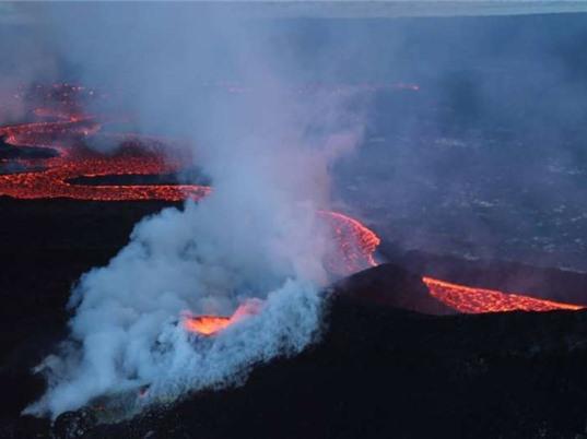 Núi lửa phun trào liên quan đến số ca bệnh đường hô hấp