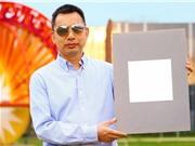 Loại sơn trắng nhất thế giới phản chiếu 98,1% ánh sáng