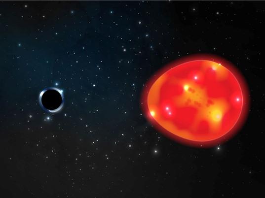 Phát hiện lỗ đen nhỏ nhất trong thiên hà