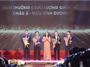 Trao giải Giải thưởng Chất lượng Quốc gia 2019 và 2020